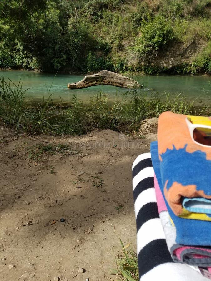 Opinión del río fotos de archivo