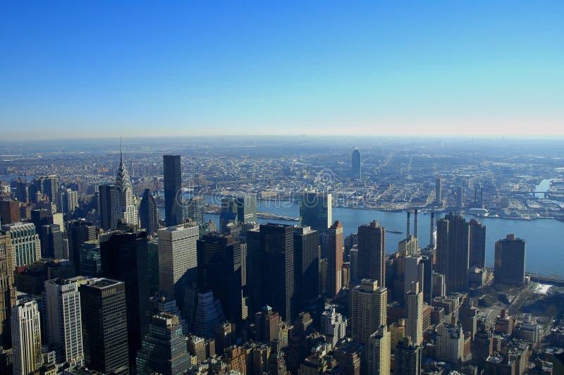 Opinión del rascacielos foto de archivo