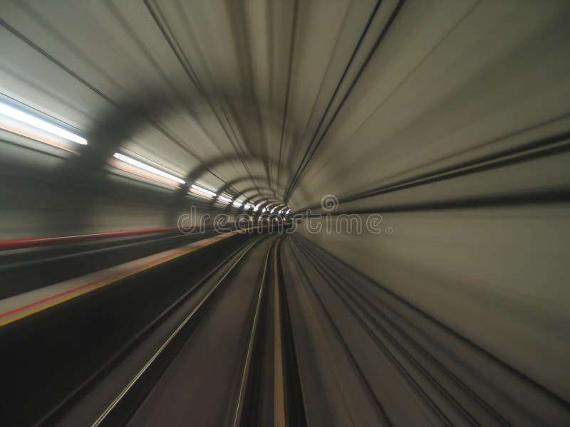 Opinión del túnel imagenes de archivo