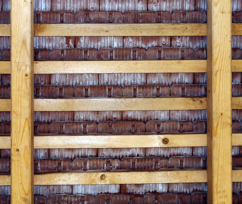 Opinión del tejado desde adentro fotos de archivo libres de regalías