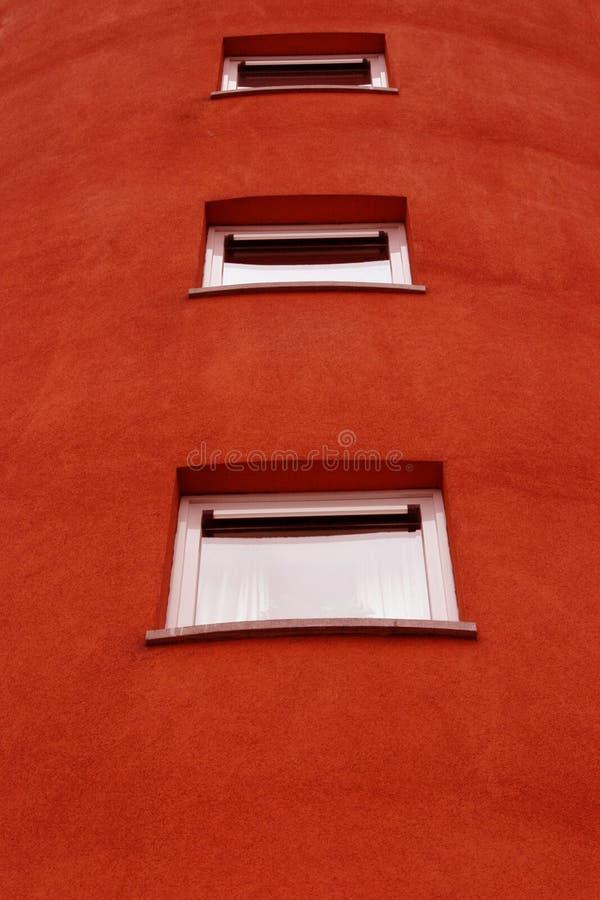 Opinión detallada de la fachada fotografía de archivo libre de regalías