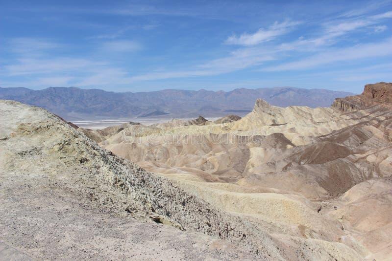 Opinión escénica de Death Valley, Nevada, los E.E.U.U. imagenes de archivo