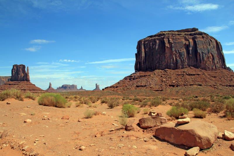 Opinión escénica del valle del monumento fotos de archivo libres de regalías