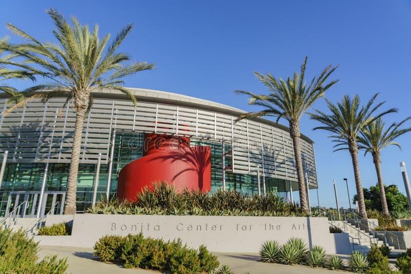 Opinión exterior Bonita Center para los artes fotos de archivo