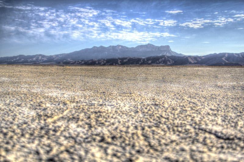 Opinión Guadalupe National Park, Tejas imagen de archivo