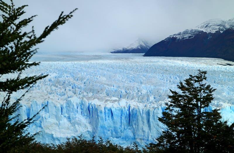 Opinión impresionante Perito Moreno Glacier en parque nacional del Los Glaciares, Santa Cruz Province, Patagonia, la Argentina fotos de archivo