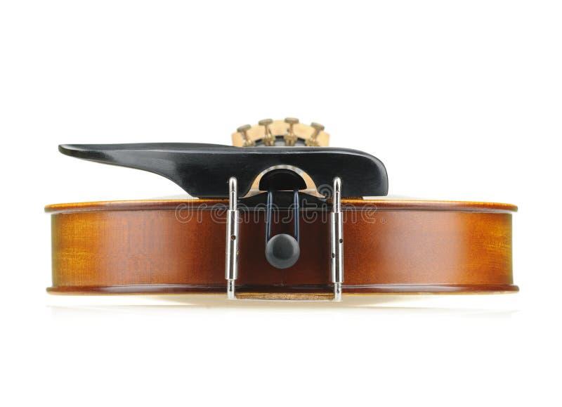Opinión inferior del violín fotografía de archivo