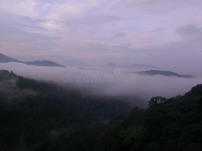 Opinión Kandy de la mañana imagenes de archivo