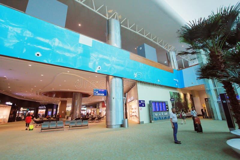 Opinión Kuala Lumpur International Airport fotos de archivo libres de regalías