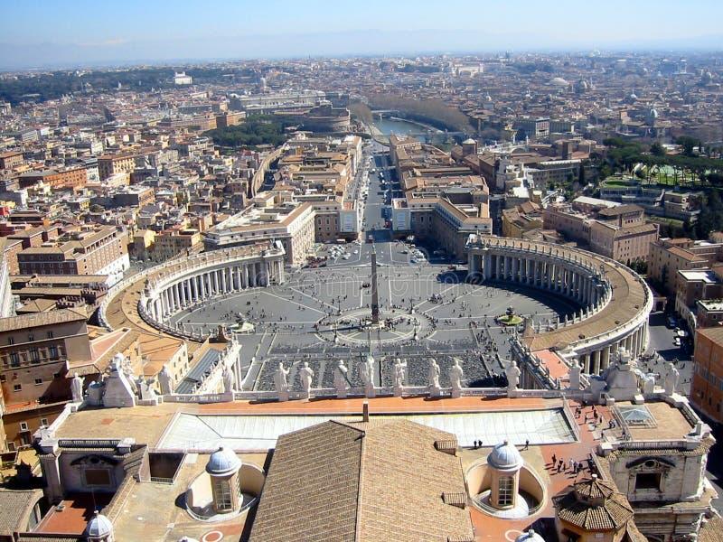 Opinión la Ciudad del Vaticano foto de archivo libre de regalías