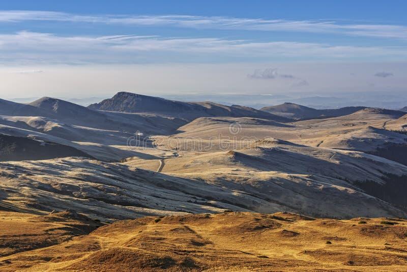 Opinión panorámica de Alpes fotografía de archivo libre de regalías