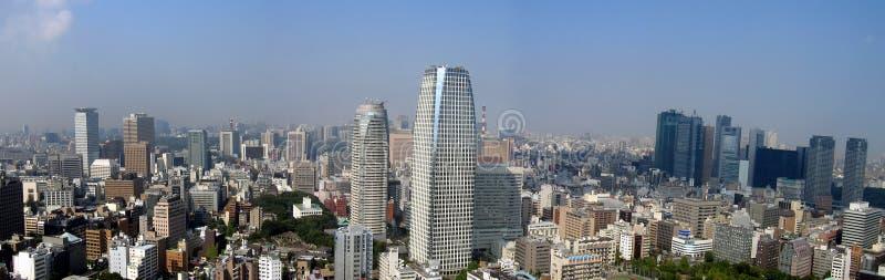 Opinión panorámica de Tokio imagen de archivo libre de regalías