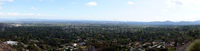 Opinión panorámica San Fernando Valley fotos de archivo