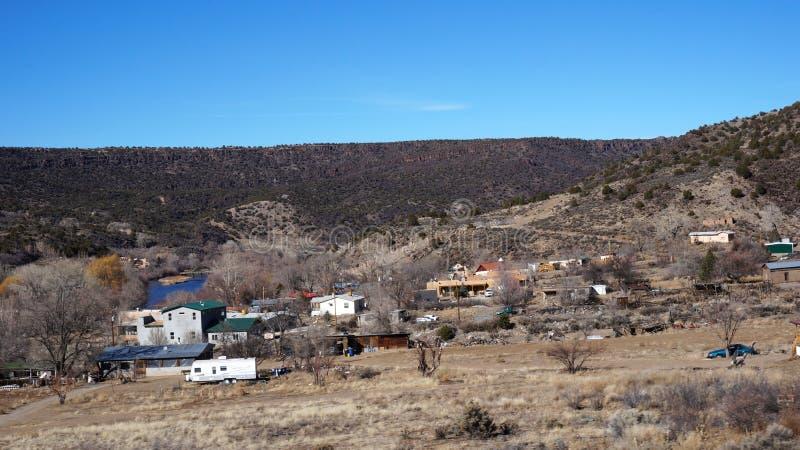Opinión Rio Grande Gorge National Park imagen de archivo libre de regalías