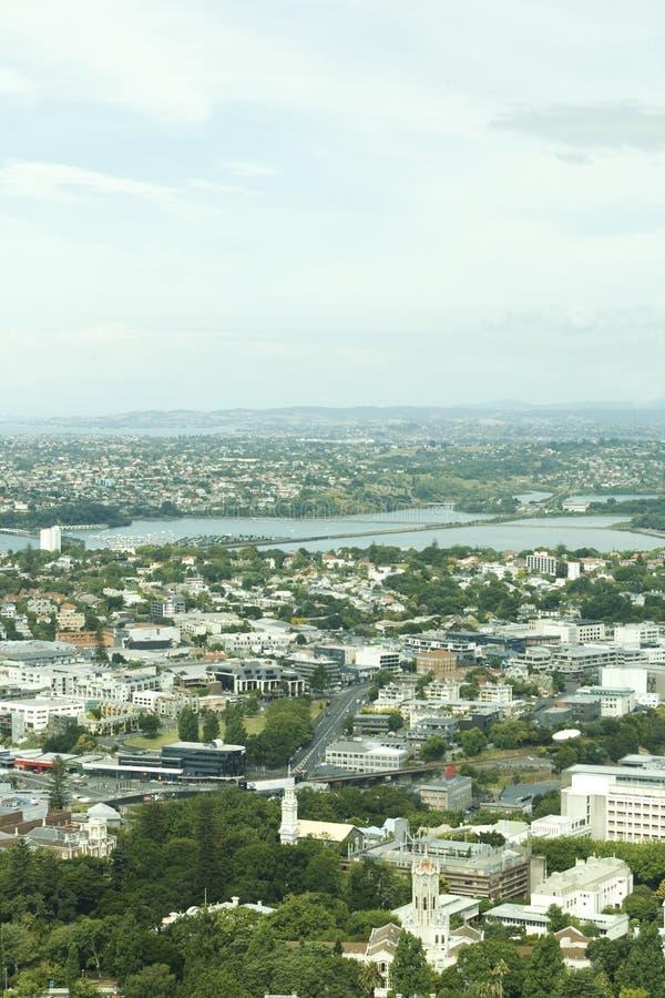 Opinión sobre Auckland foto de archivo libre de regalías