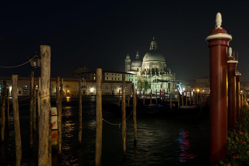 Opinión sobre dorsoduro en Venecia imagen de archivo libre de regalías