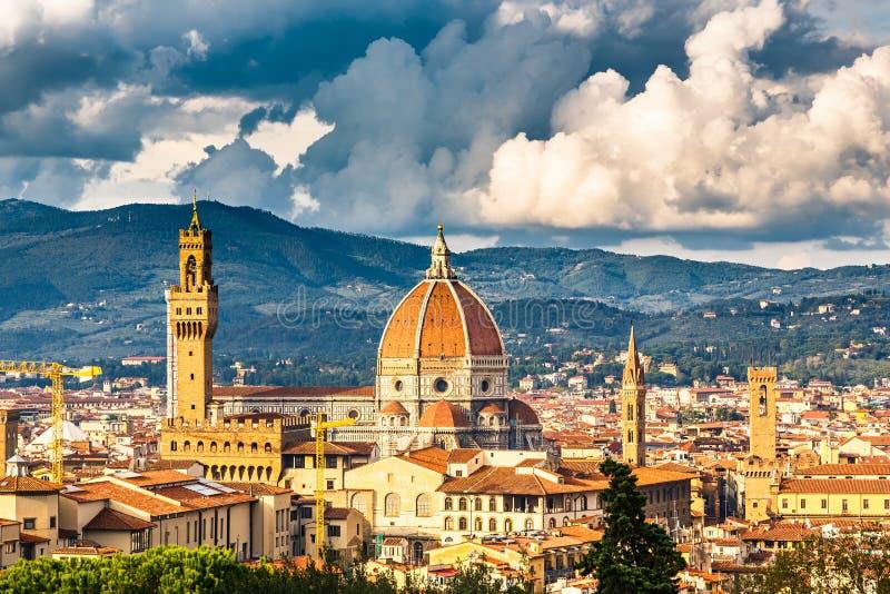Opinión sobre Florencia fotografía de archivo libre de regalías