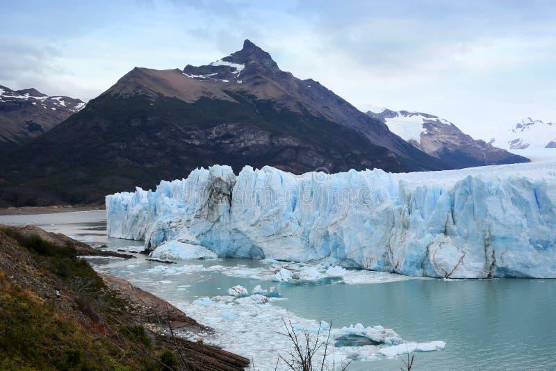 Opinión sobre Perito Moreno Glacier - Patagonia - la Argentina fotografía de archivo