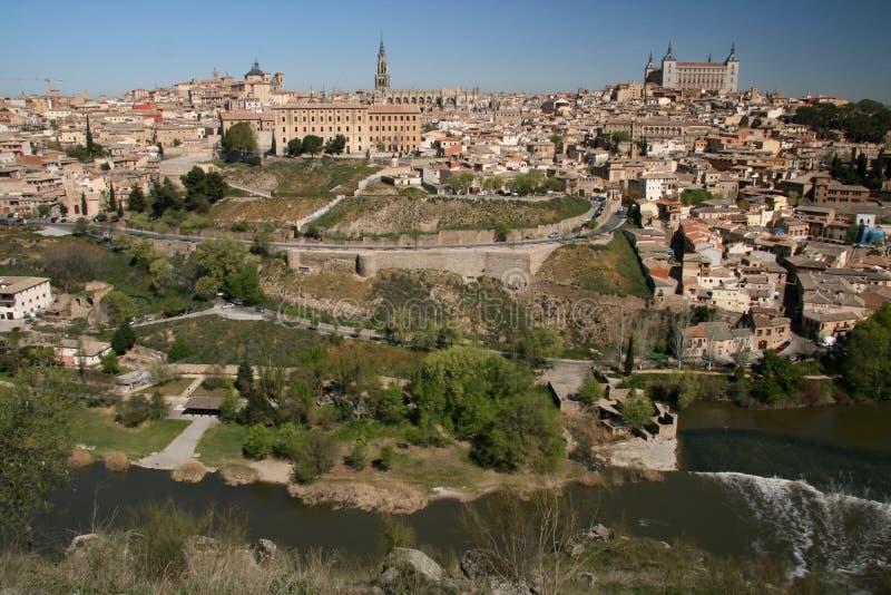 Opinión sobre Toledo imágenes de archivo libres de regalías