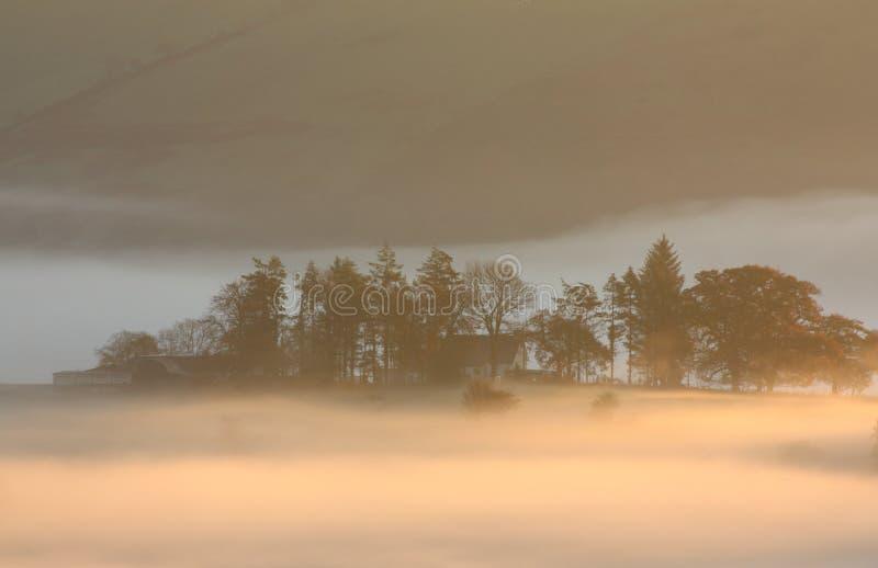 Opinión suave de la mañana imágenes de archivo libres de regalías