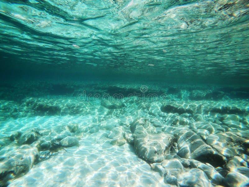 Opinión subacuática del mar imagenes de archivo