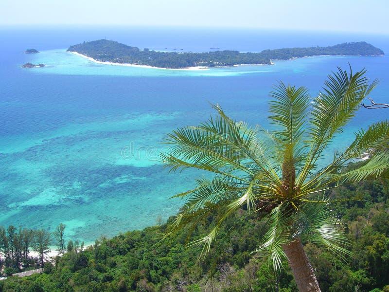 Opinión tropical de la isla foto de archivo libre de regalías