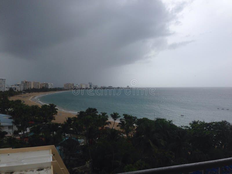 Opinión tropical de la playa de la isla imágenes de archivo libres de regalías