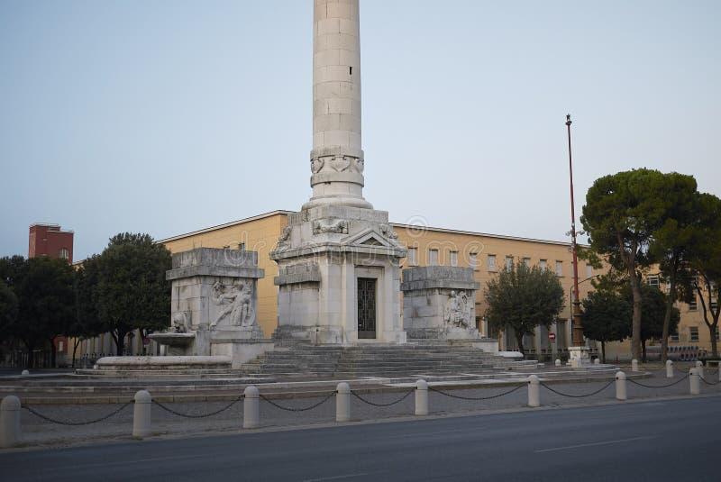 Opinión Victory Monument foto de archivo