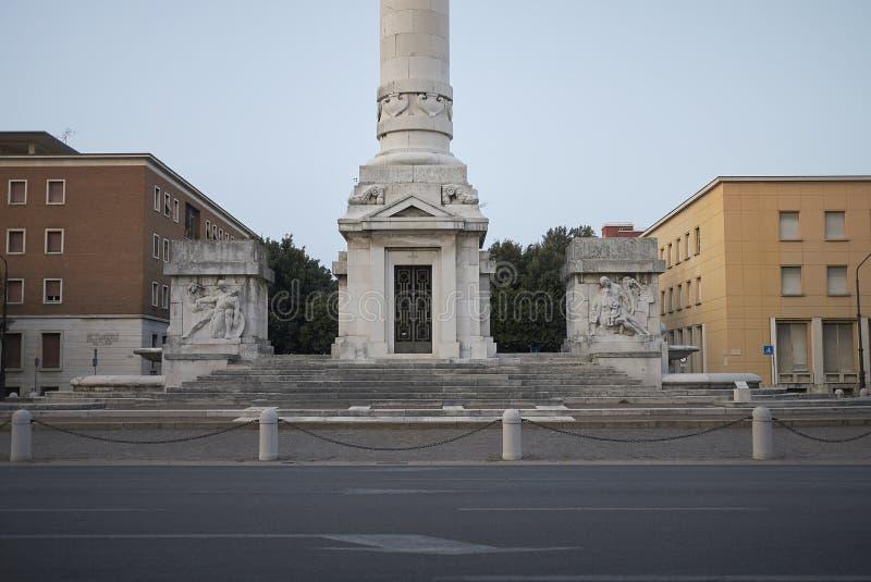 Opinión Victory Monument foto de archivo libre de regalías