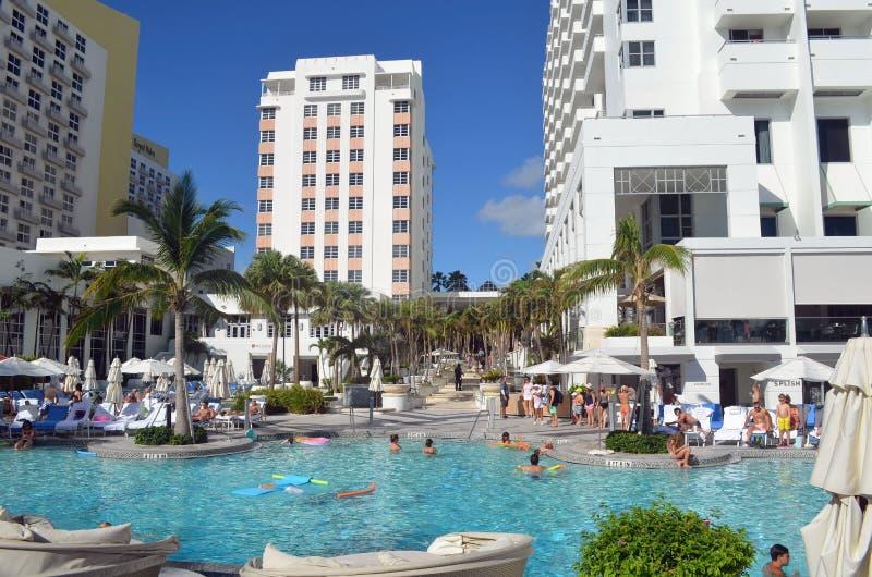 Opiniões cênicos de Miami Beach fotos de stock