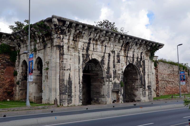 Opiniões da cidade de Istambul imagem de stock