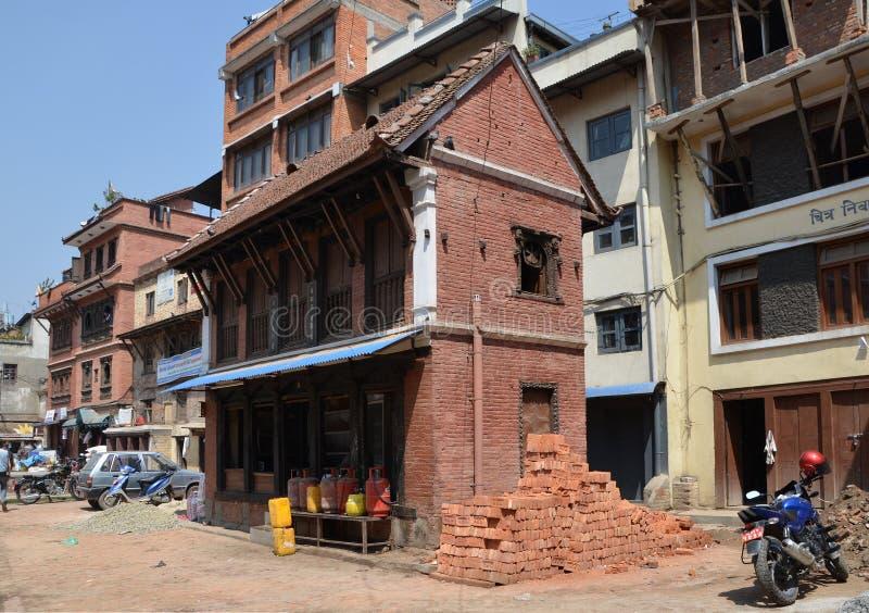 Opiniões da cidade de Lalitpur imagem de stock royalty free