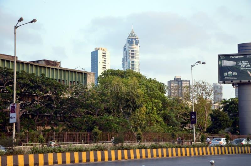 Opiniões da cidade de Mumbai imagens de stock
