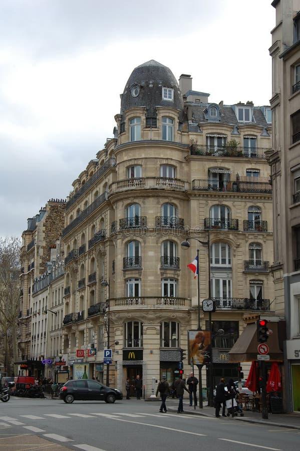 Opiniões da cidade de Paris fotos de stock royalty free