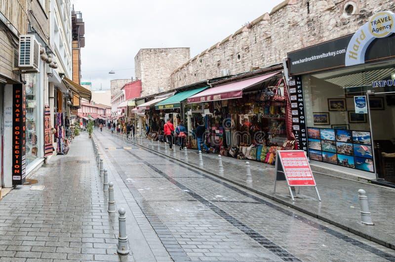 Opiniões de Istambul imagens de stock