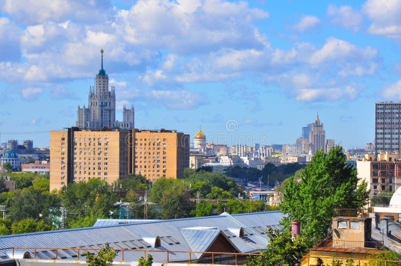 Opiniões de Moscou imagens de stock royalty free