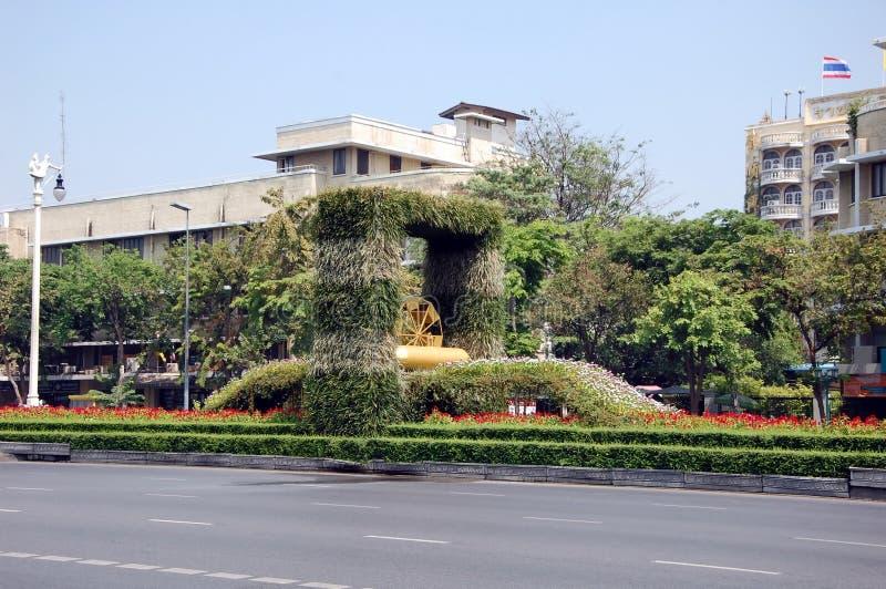 Opini?es da cidade de Banguecoque foto de stock royalty free
