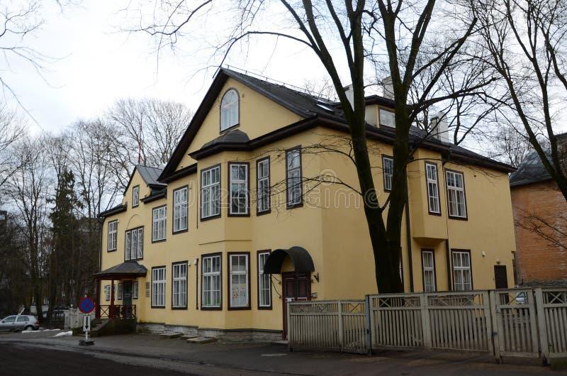 Opini?es da cidade de Tallinn imagens de stock