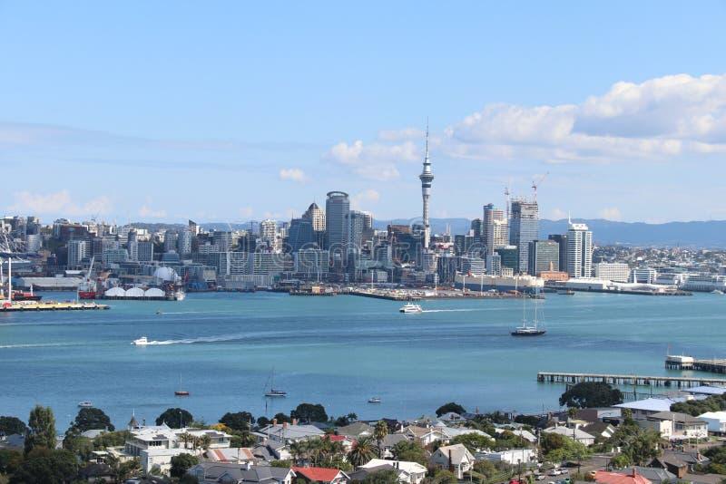 Opini?n de Auckland fotos de archivo libres de regalías