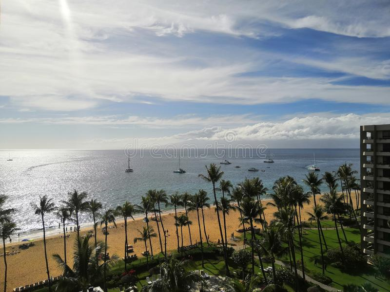 Opini?n de Honolulu imagenes de archivo