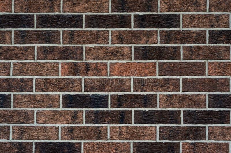 Opini?n del primer del viejo brickwall Textura antigua del brickwall para el fondo fotografía de archivo libre de regalías