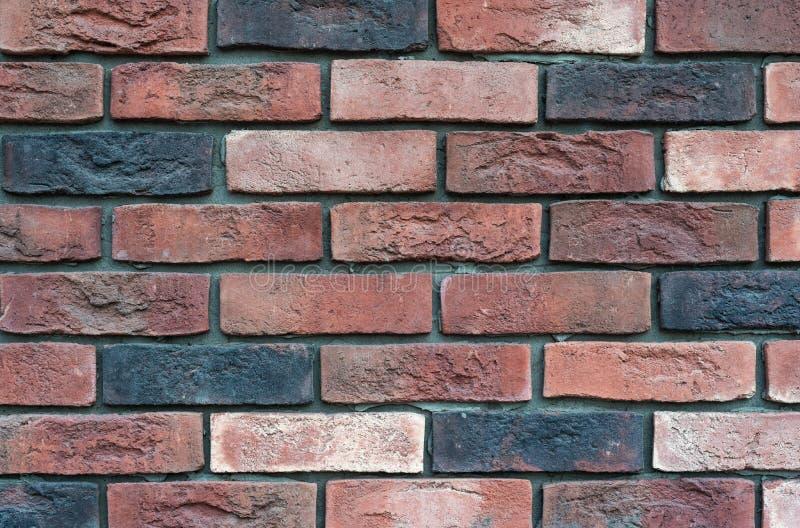 Opini?n del primer del viejo brickwall Textura antigua del brickwall para el fondo fotos de archivo
