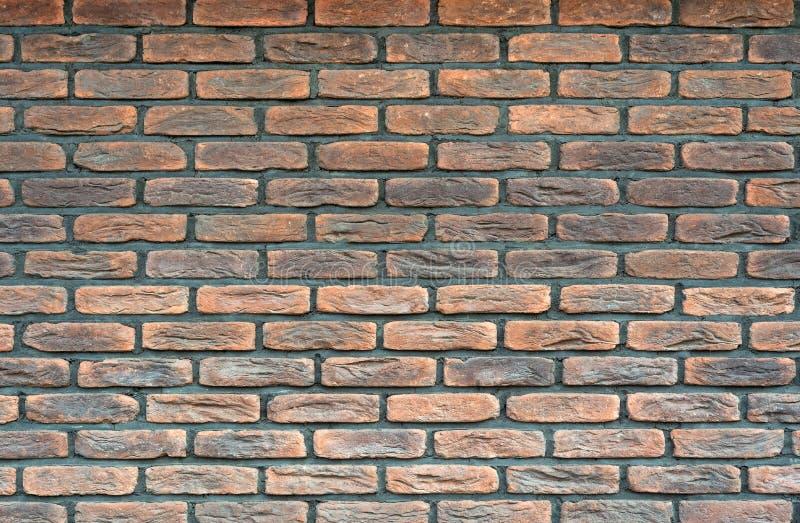 Opini?n del primer del viejo brickwall Textura antigua del brickwall para el fondo fotografía de archivo