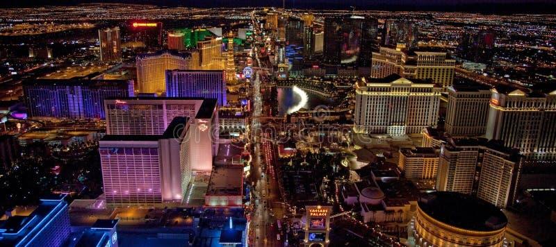Opini?n a?rea de Las Vegas imagen de archivo libre de regalías