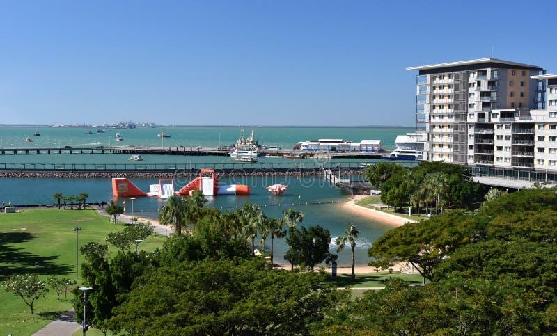 Opini?o Darwin Waterfront imagens de stock royalty free