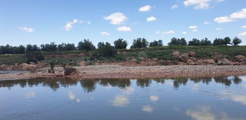 Opini?o Wadi Darnah no morroco imagens de stock