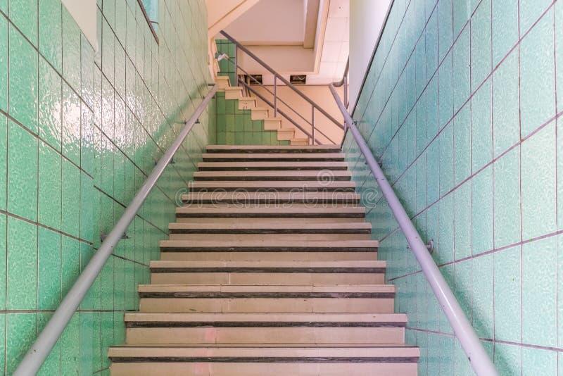 Opiniones de Curaçao de las escaleras de Retoi fotografía de archivo libre de regalías