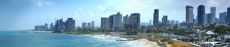 Opiniones de la costa de Tel Aviv foto de archivo