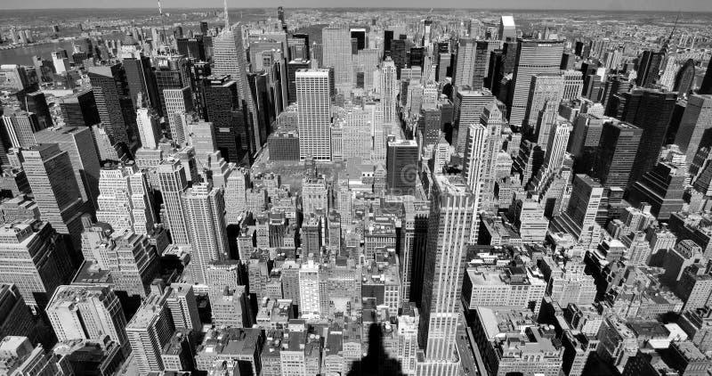 Opiniones de Manhattan imágenes de archivo libres de regalías