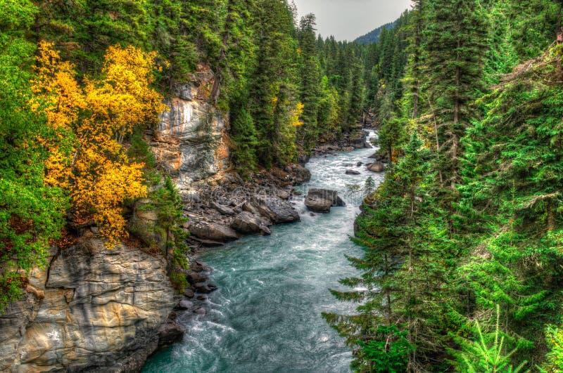 Opiniones del río foto de archivo libre de regalías